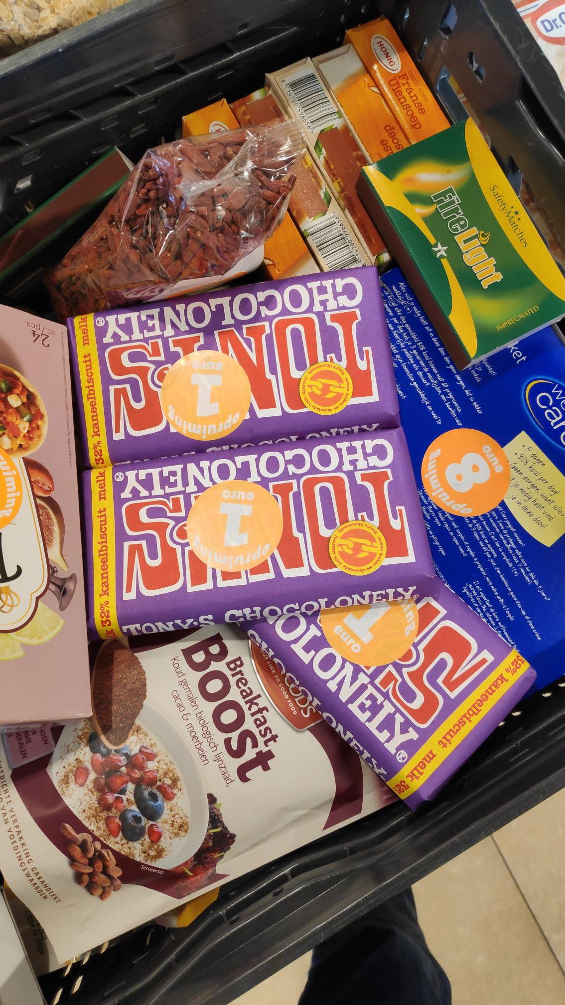 [lokaal] Tony's Chocolonely €1 @Jumbo Sportlaan Gouda