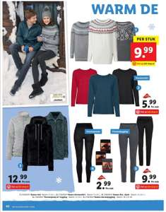 Thermopanty, thermo jegging, thermo shirt bij Lidl