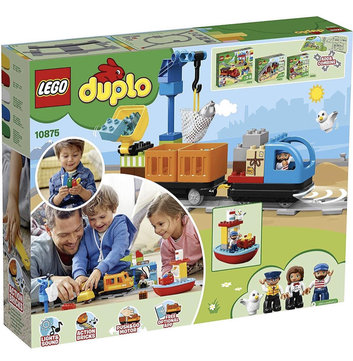 [lego duplo] Cargo Train (10875) [amazon.fr]