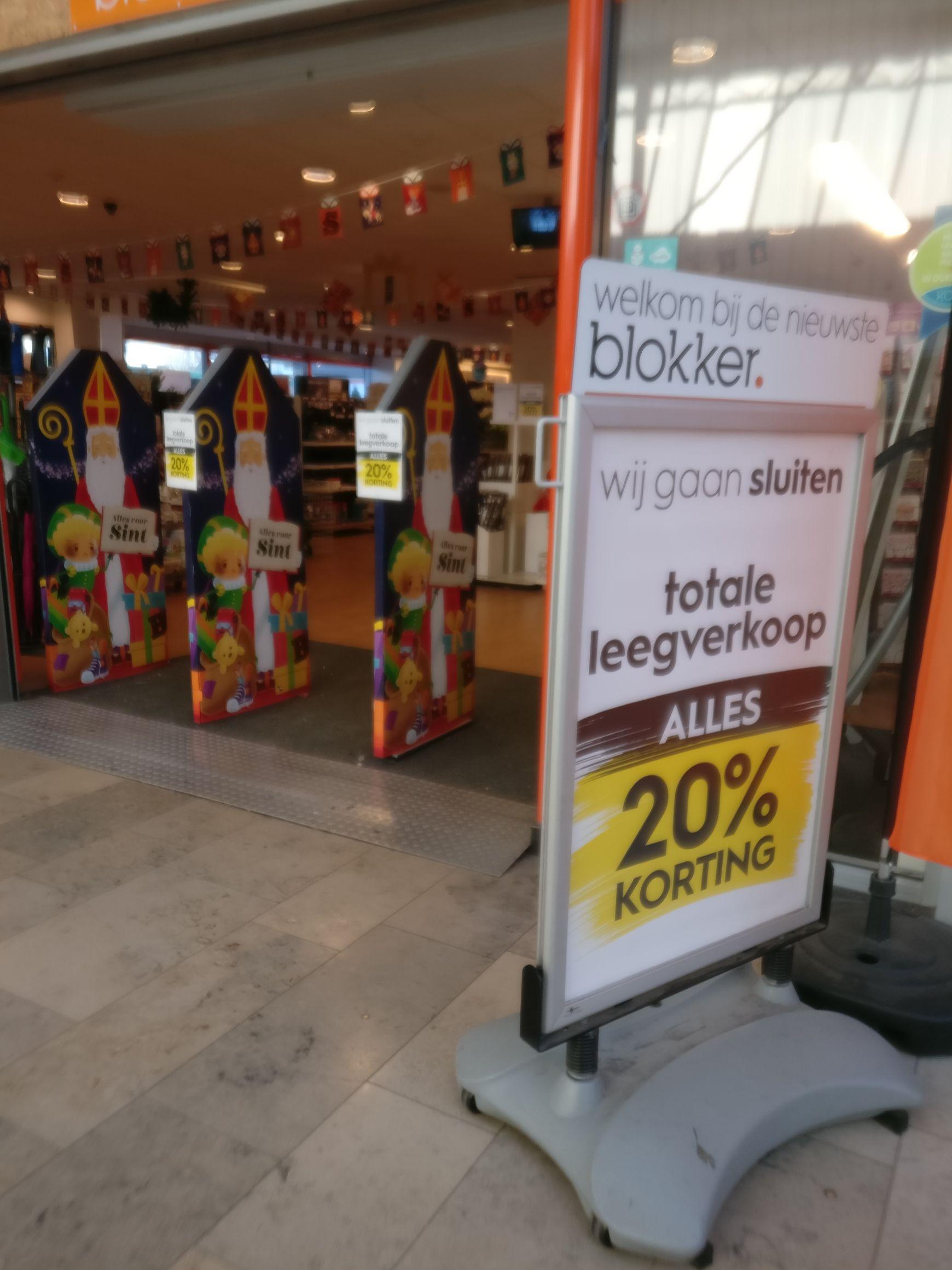 20% op alles bij Blokker [lokaal]
