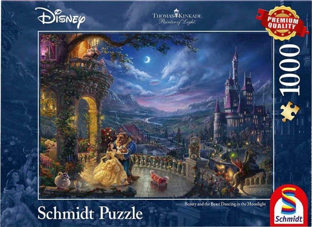 Thomas Kinkade - Disney puzzels van 1000 stukjes voor €6,75 - €13,79 @ amazon.de