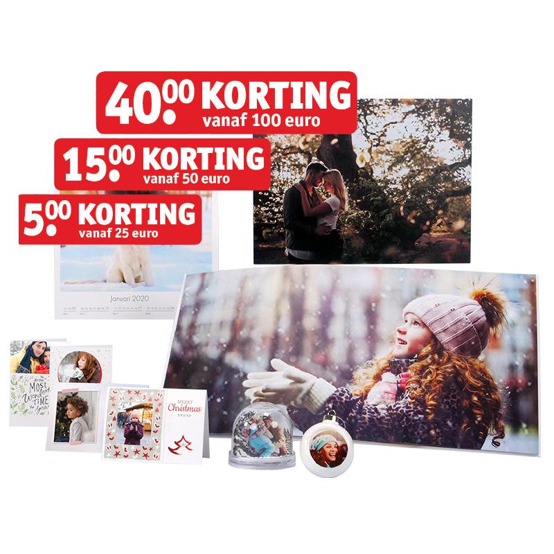 Kruidvat Stapelkorting: tot 40 euro korting op alle fotoproducten