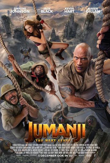 Gratis naar Jumanji: The Next Level in Dolby Cinema | Vue Eindhoven - inclusief hapjes en drankjes