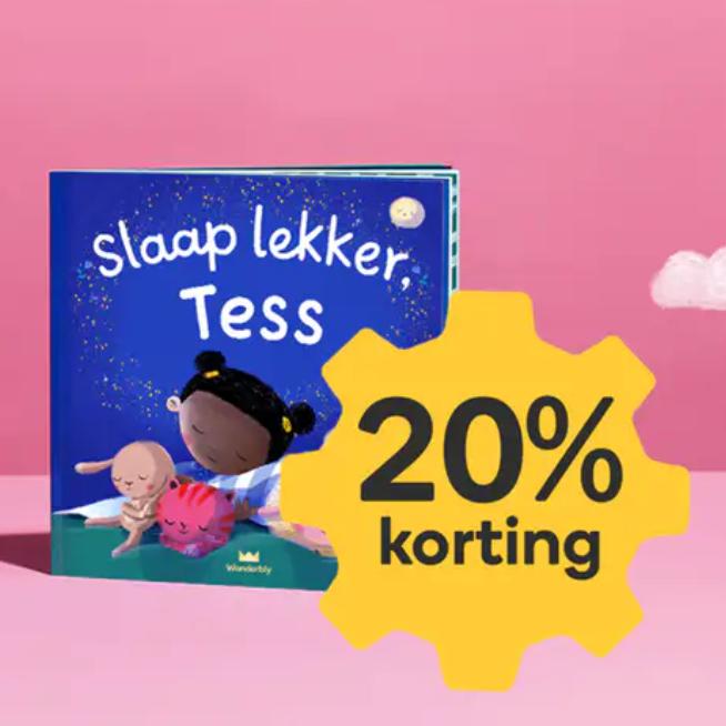 Gepersonaliseerde kinderboeken van Wonderbly.