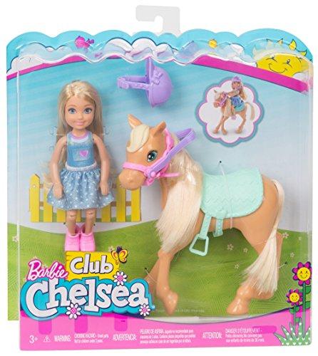 Mattel Barbie dyl42 – Chelsea en pony