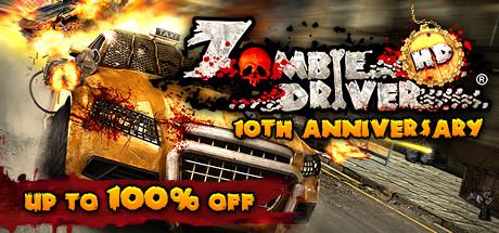 Zombie Driver HD gratis op Steam (24 uur)
