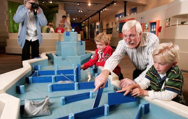 Voor €5 ipv €10,50 een spetterend dagje uit bij het Watermuseum in Arnhem