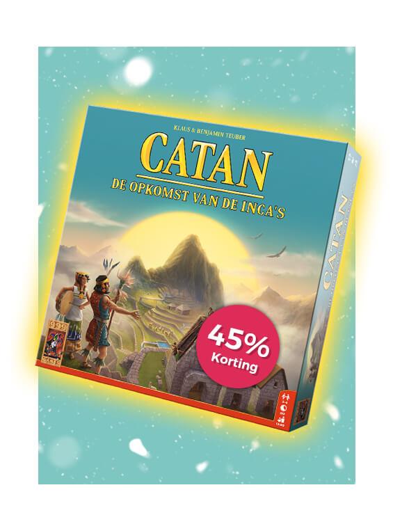 Dagactie: 45% korting op Catan: De Opkomst van de Inca's