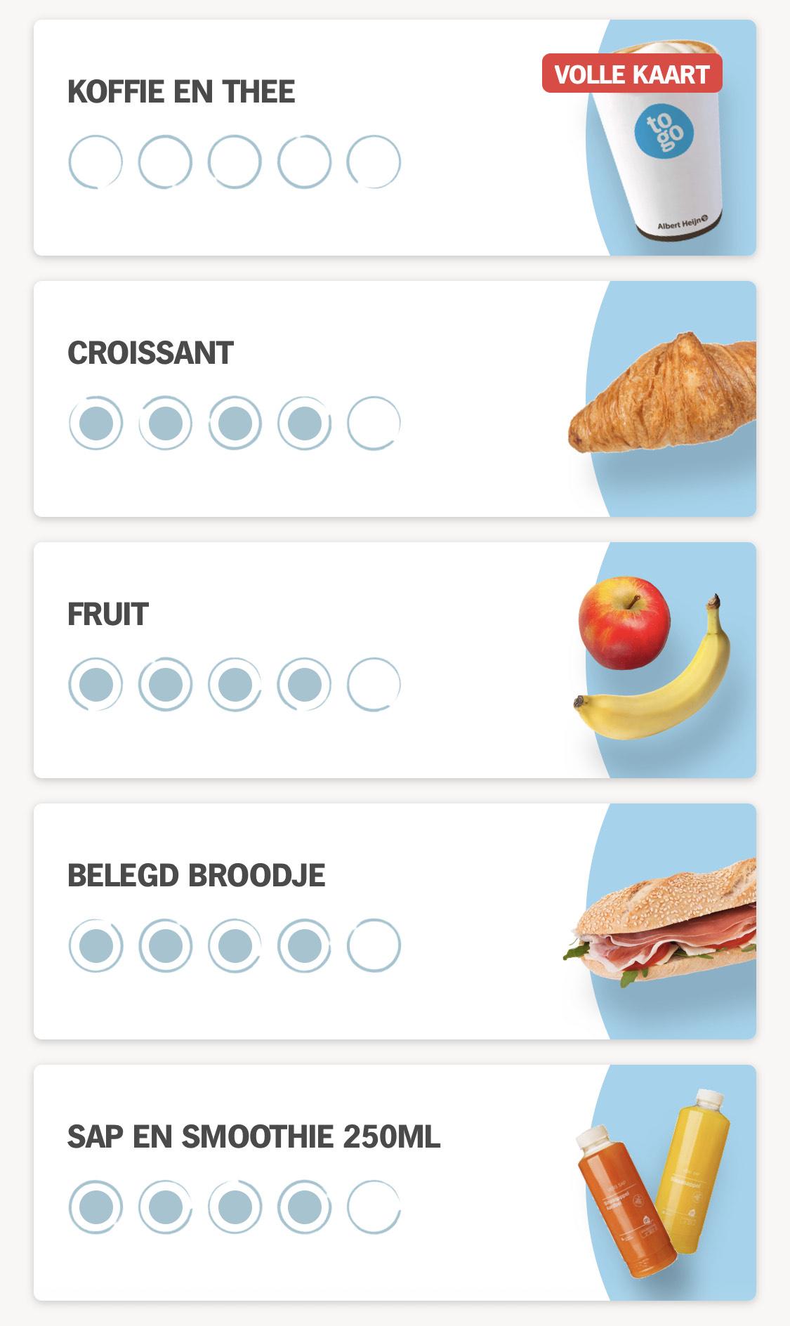 AH To Go - Gratis Koffie / Croissant / Belegd Broodje