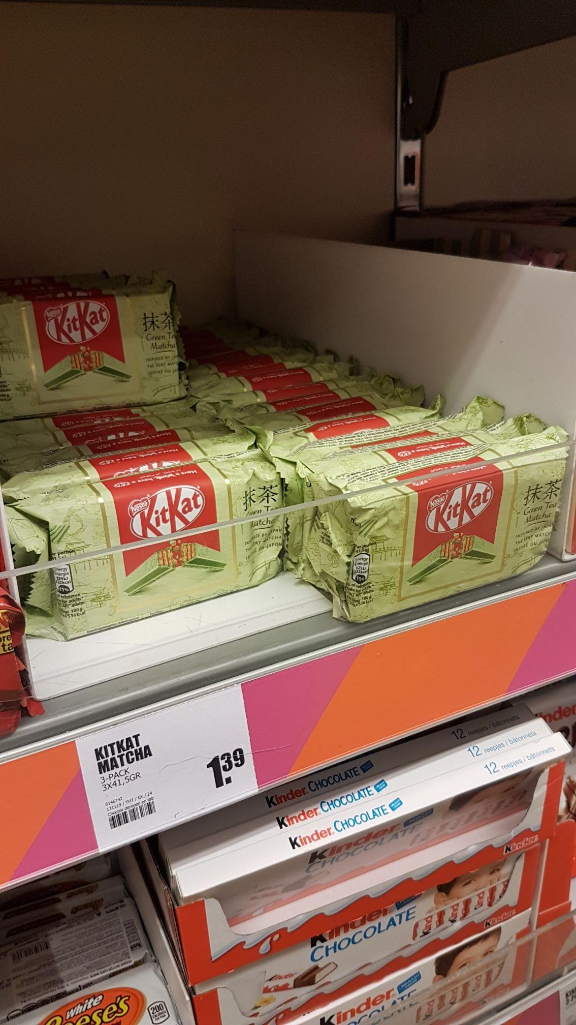 Kit Kat Matcha 3 pack