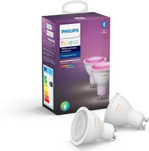 Philips Hue GU10 White and Color Ambiance 2-pack