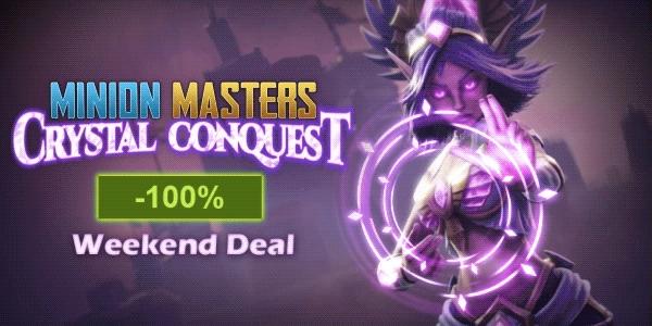 Minion Masters + Crystal Conquest DLC gratis @ Steam