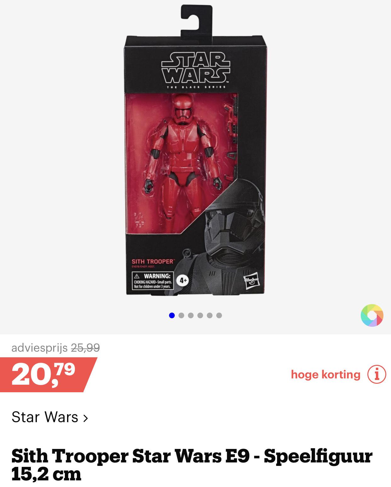 Star Wars Black Serie 6 inch Sith Trooper