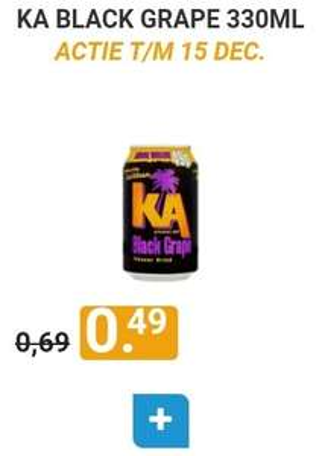 KA Diverse Frisdranken