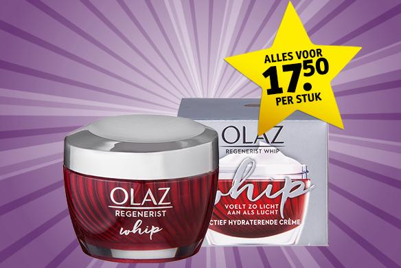 Kruidvat dagdeal: Olaz Regenerist voor €15