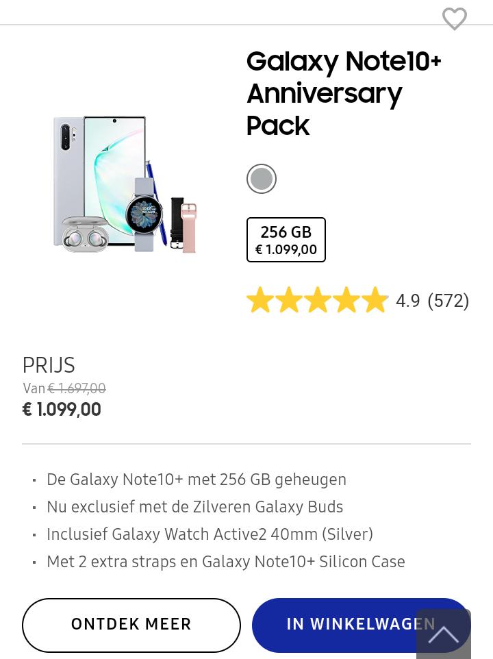Galaxy Note 10+ Anniversary Pack
