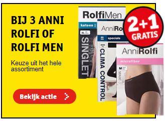 Anni Rolfi 2+1 gratis & gratis verzending vanaf €15