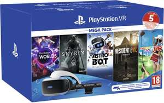 PlayStation VR Mega Pack II + 5 games