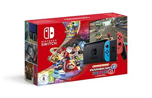 Nintendo Switch (2019) Mario Kart 8 Bundle [Amazon.fr]