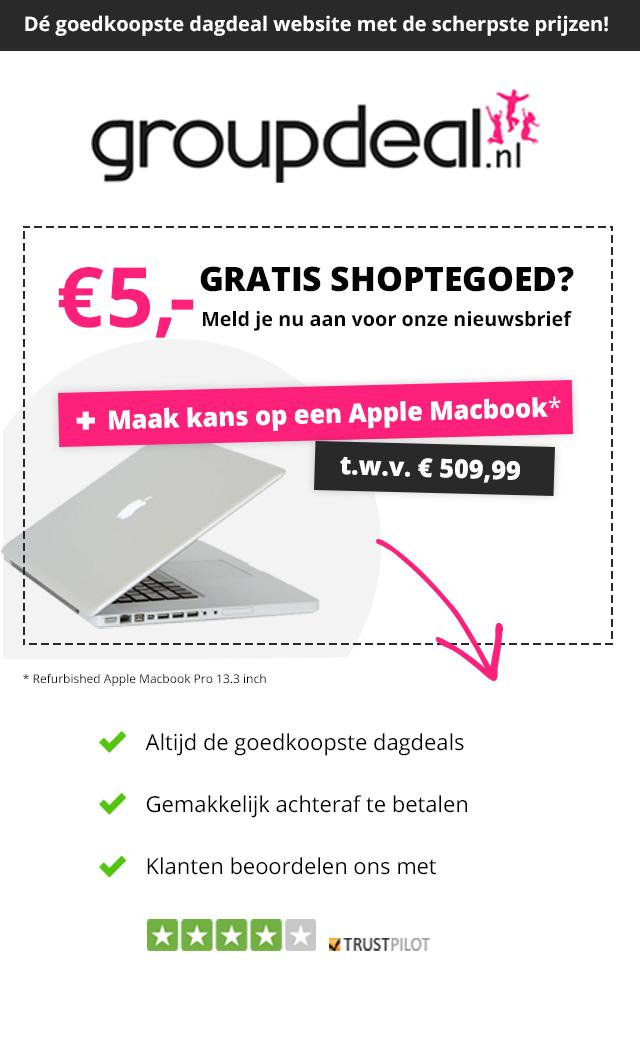 €5 korting @ Groupdeal