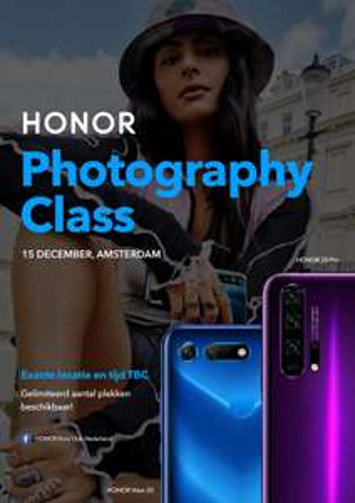 Honor Photography Class [GRATIS!]