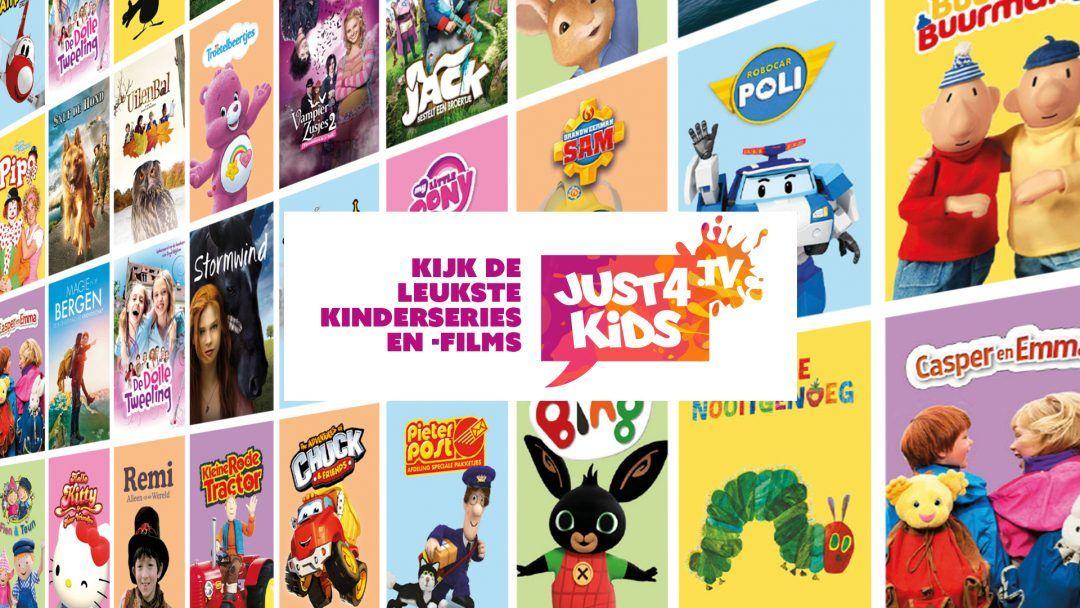 Gratis maand Just4kids (Nederlandse kinderseries en films)
