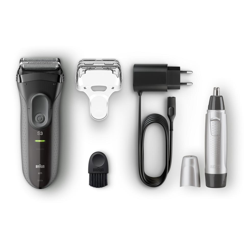 Braun Series 3 ProSkin scheerapparaat + oor- en neustrimmer, met €15 cashback @Kruidvat