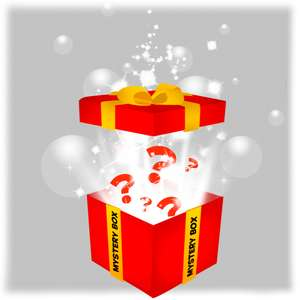 Mysterybox met 4 familie/kinderspellen voor €34,99 twv €62,96 @ 999 games