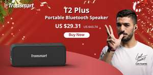 AliExpress - TronSmart T2 Plus Bluetooth speaker - 23.75 na coupon