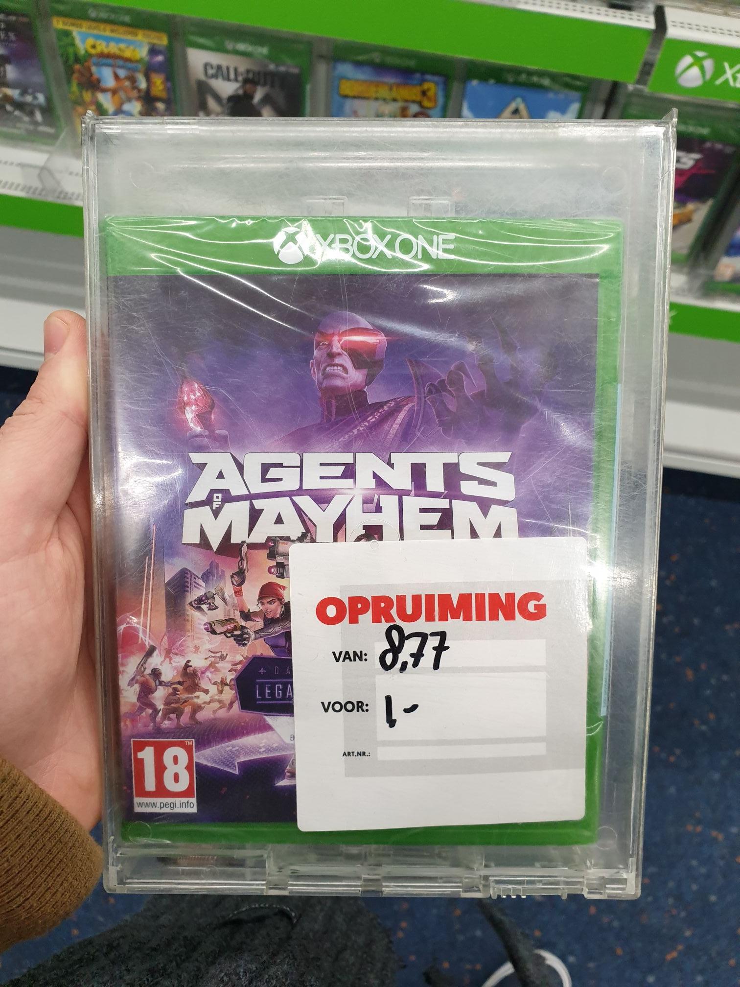 Xbox one Agents of Mayhem €1 @ Mediamarkt Sontplein