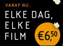 Vue Hoogeveen & Vue Steenwijk: Elke Dag, Elke Film €6,50