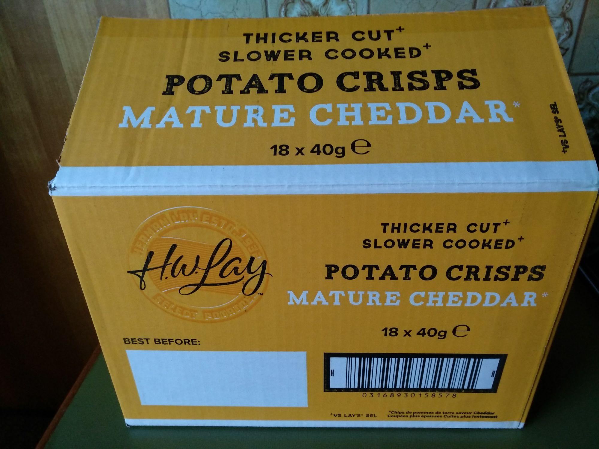Chips 18 zakjes 40 gram @ Die Grenze Noord-Deurningen
