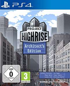Project Highrise: Architect's Edition PS4 voor € 7,99 @ Amazon.de
