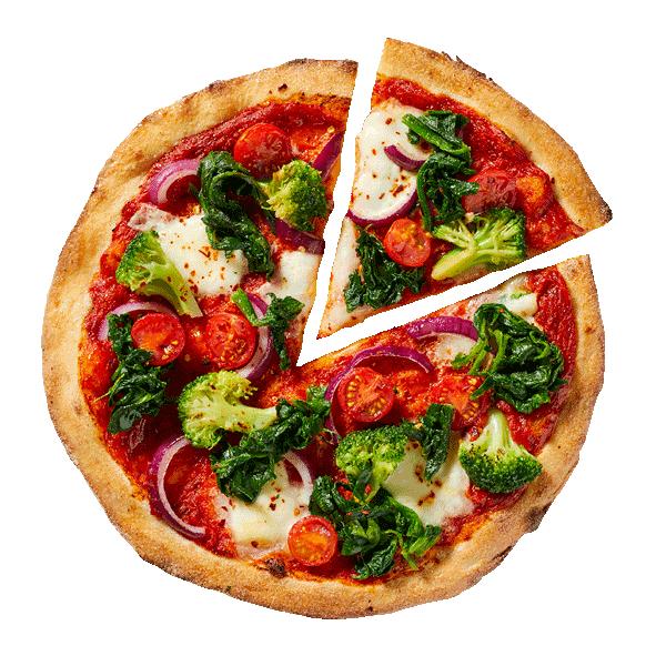 Dinsdagdeal NYP: 30cm bloemkoolbodem voor de prijs van een 25cm pizza.