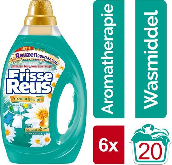 6x1000ml Frisse Reus Bali Gel Wasmiddel- Halfjaarbox -120 wasbeurten bij bol via select