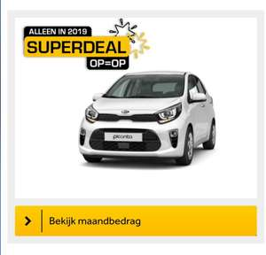 Kia Picanto comfortline private lease