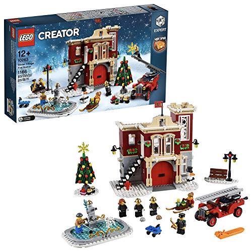 LEGO 10263 Creator Expert Winter Village Brandweerkazerne