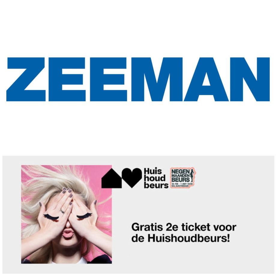 2e ticket Huishoudbeurs/ Negenmaandenbeurs @ Zeeman