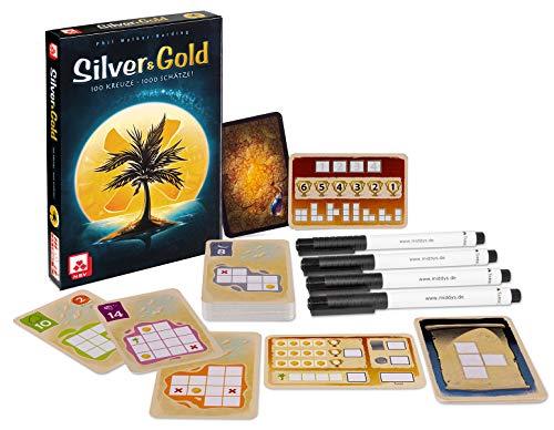 Silver & Gold 'flip-and-write' spel (DU) voor €7,09 @ amazon.de