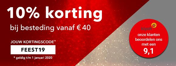 Waterfilterexpert 10% korting bij besteding vanaf € 40,-