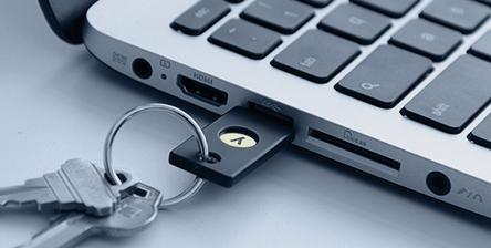 Yubi U2F Key voor $5 ipv $18