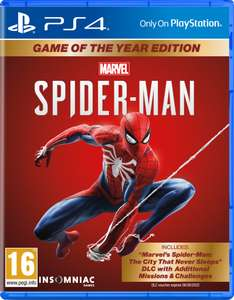 PS4 Marvel's Spider-Man Game of the Year Edition