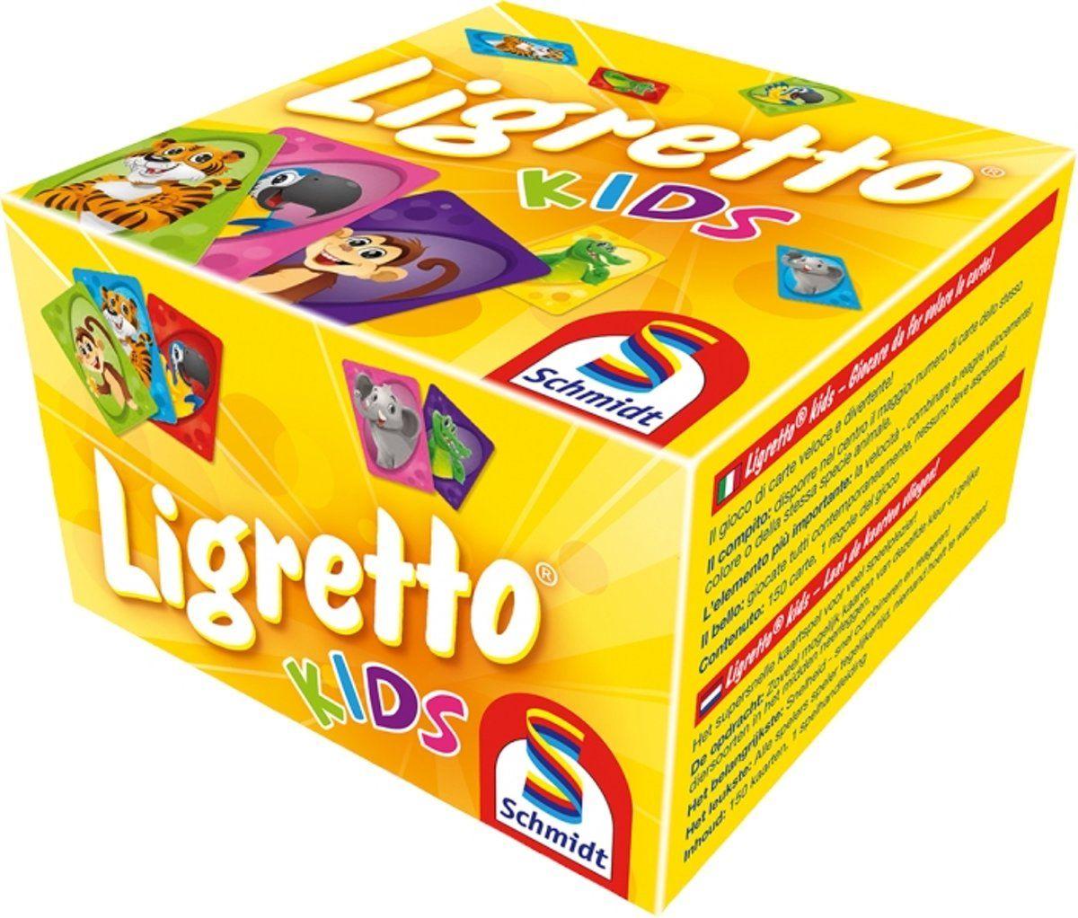 999 games Ligretto kids kaartspel @trekpleister