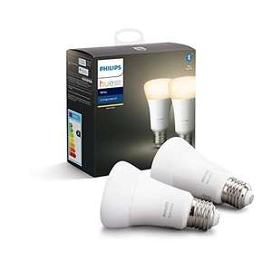 2x Philips Hue White E27 @ Amazon