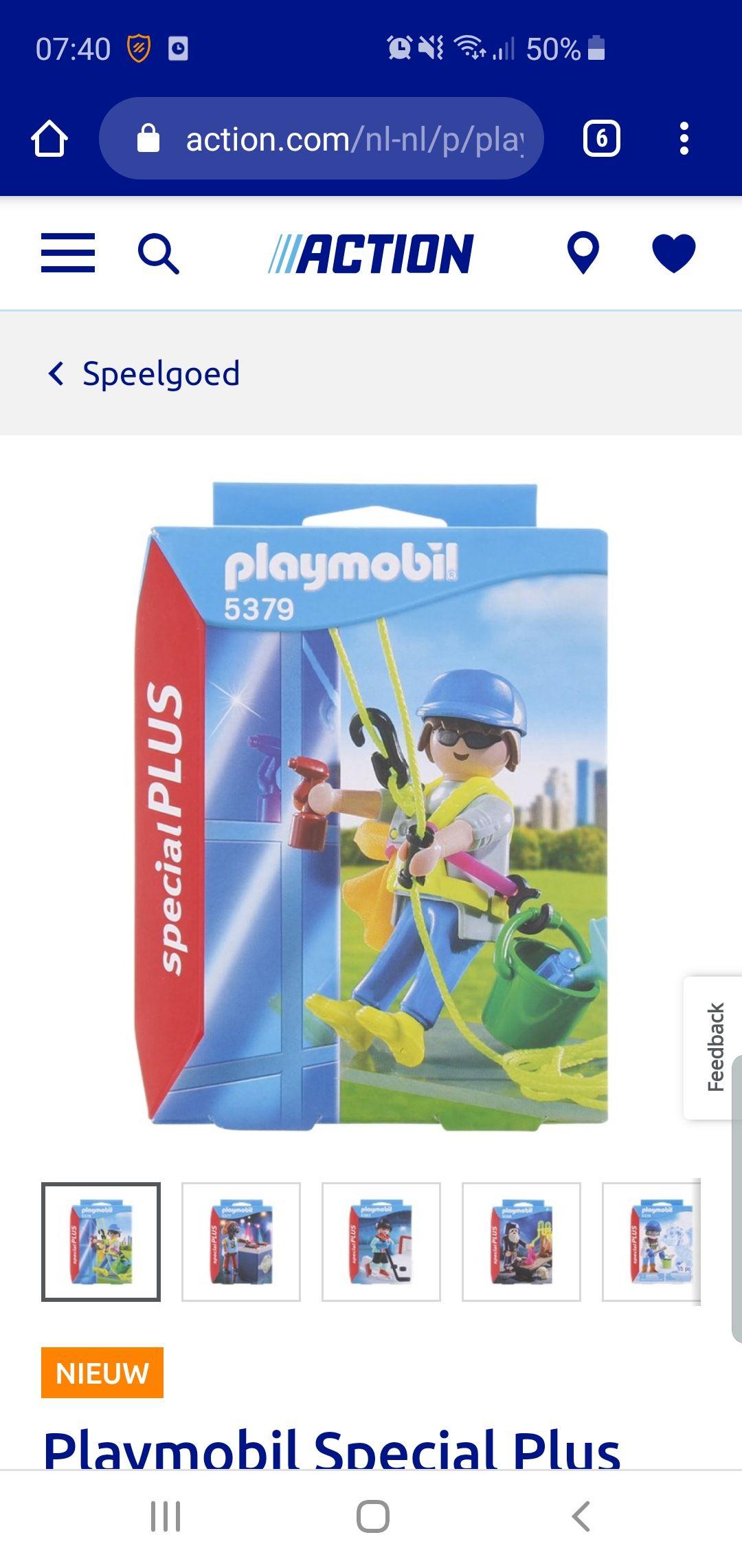 Action - Playmobil special plus beroepen