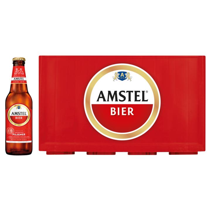 2 kratjes Amstel bier voor €17,50 @ Deen winkels
