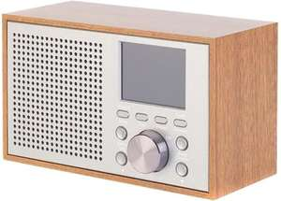 Intempo DAB10 DAB+ Radio Bruin 2.5W