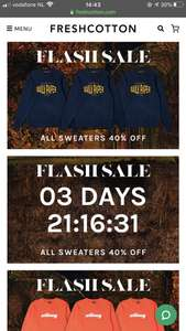 Freshcotton / All Sweaters 40% OFF