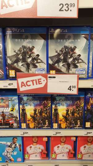 PS4 Destiny 2 50% Korting