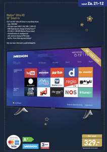 "Medion Ultra-HD 50"" Smart-TV"